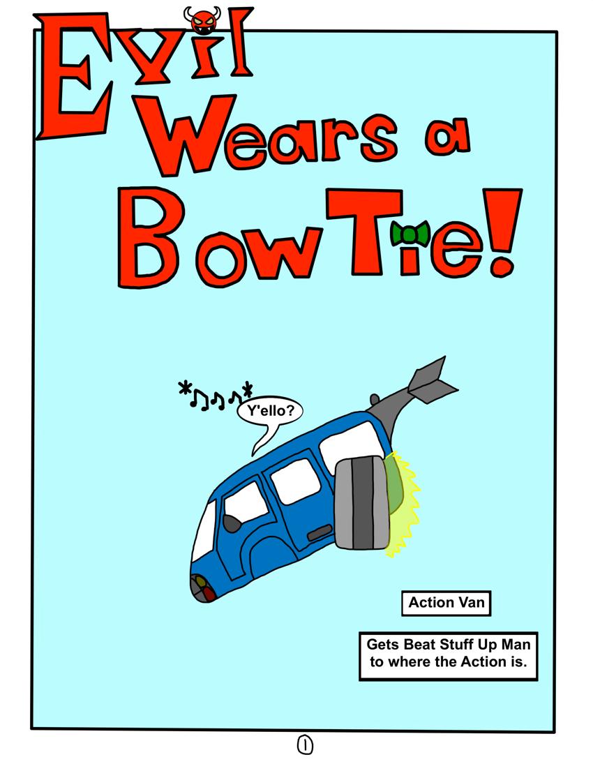 Evil Wears a Bow Tie! (1)